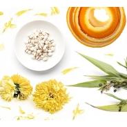 Suvetaimede komplekt (aedkrüsanteem, mandariinikoor, pisarhein)